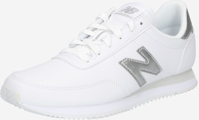 new balance Baskets basses en argent / blanc, Vue avec produit