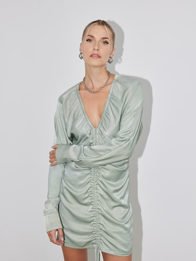 LeGer by Lena Gercke Dress 'Nicola' in Pastel green: Frontal view