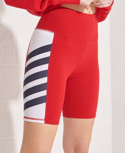 Superdry Sportbroek in de kleur Rood, Modelweergave