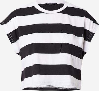 Trendyol T-Shirt in schwarz / weiß, Produktansicht