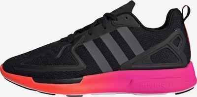 Sportbačiai be auliuko 'Zx 2k Flux' iš ADIDAS ORIGINALS , spalva - rožinė / juoda, Prekių apžvalga