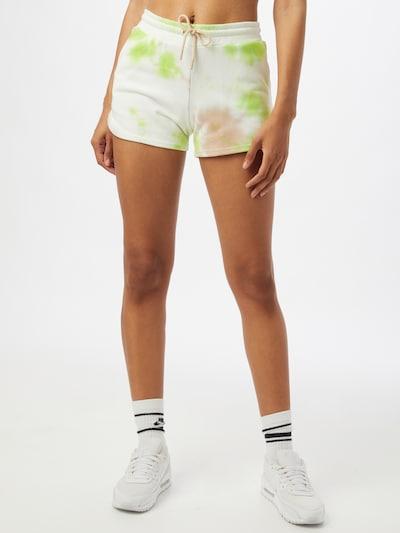 ONLY PLAY Sportovní kalhoty 'MANU' - písková / světle zelená / bílá, Model/ka