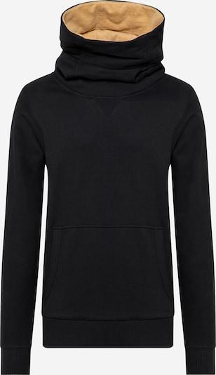 Fli Papigu Sweat-shirt 'Wat ne Pflaume' en noir, Vue avec produit
