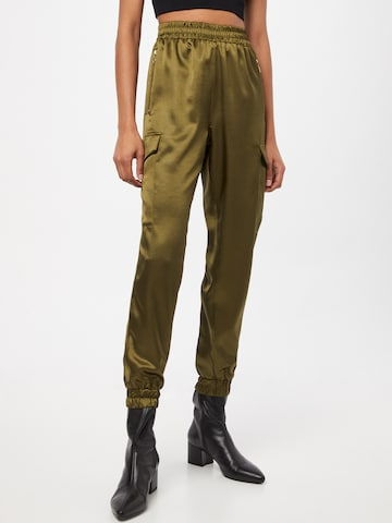 Pantalon cargo 'TRA025' AX Paris en vert