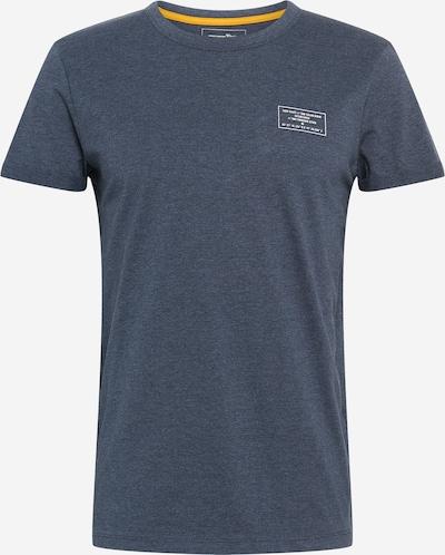 TOM TAILOR DENIM T-shirt in taubenblau / weiß, Produktansicht
