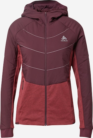 ODLO Athletic Jacket in Red