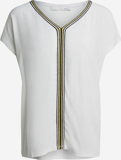 OUI T-Shirt in gelb / schwarz / weiß, Produktansicht