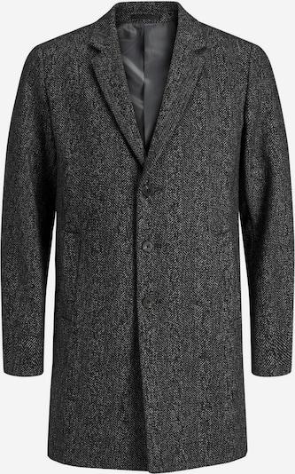 JACK & JONES Manteau mi-saison en noir chiné, Vue avec produit