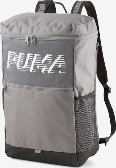 PUMA Sportrugzak in de kleur Grijs / Wit, Productweergave