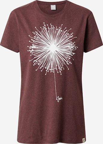 Iriedaily Shirt 'Blowball' in Red
