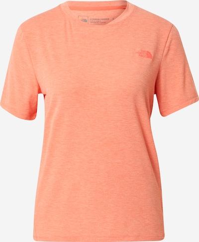 korál / sötét narancssárga THE NORTH FACE Funkcionális felső 'WANDER', Termék nézet