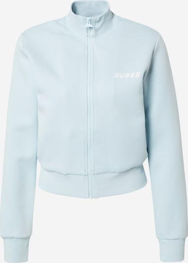 Bluză cu fermoar sport 'ABBY' GUESS pe azur, Vizualizare produs