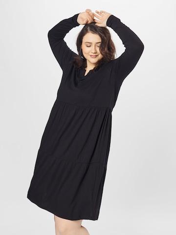 KAFFE CURVE Dress 'Patri' in Black