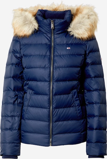 Tommy Jeans Zimska jakna 'TJW BASIC HOODED DOWN JACKET' | mornarska barva, Prikaz izdelka