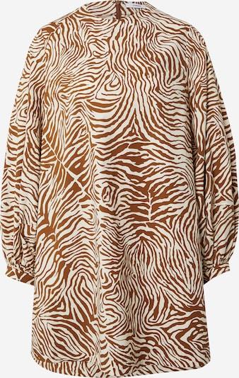 Suknelė 'Aram' iš Samsoe Samsoe, spalva – ruda / balta, Prekių apžvalga