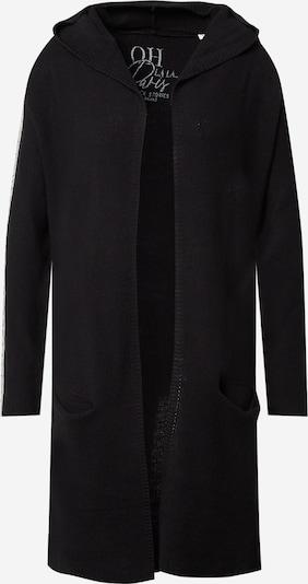 Geacă tricotată Soccx pe negru / alb, Vizualizare produs