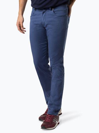 BRAX Kalhoty 'Cadiz' - modrá: Pohled zepředu