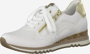 Sneaker low de la MARCO TOZZI pe alb