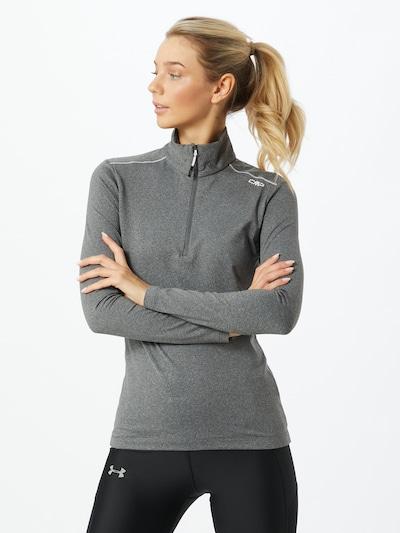 CMP Sport-Sweatshirt in schwarz, Modelansicht