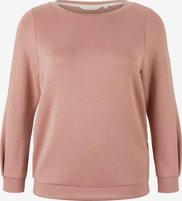 MY TRUE ME Sweatshirt in Pink