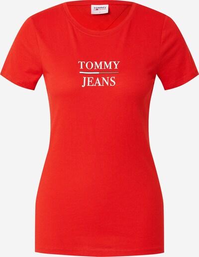 Tommy Jeans T-Krekls, krāsa - zils / sarkans / balts, Preces skats
