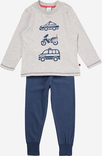 SANETTA Pajamas in Dark blue / Grey / Red, Item view