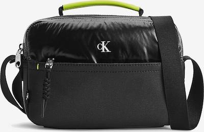 Calvin Klein Jeans Sac à bandoulière en vert fluo / noir, Vue avec produit