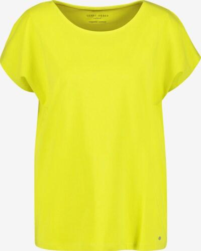 GERRY WEBER T-Shirt in neongelb, Produktansicht