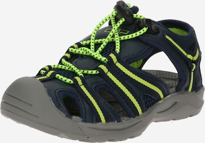 CMP Sandále 'Aquarii' - ultramarínová / žltá, Produkt