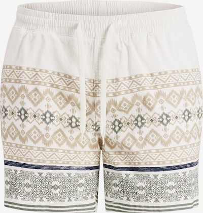 JACK & JONES Pantalon en beige / bleu / blanc, Vue avec produit