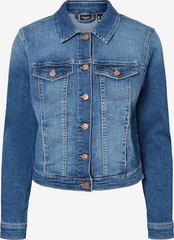 VERO MODA Φθινοπωρινό και ανοιξιάτικο μπουφάν 'Tine' σε μπλε