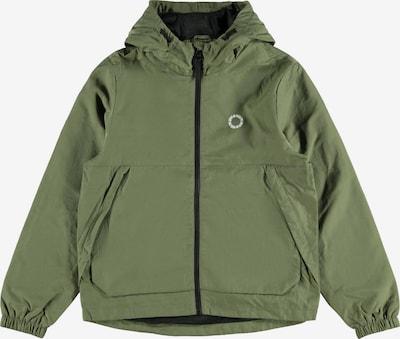 LMTD Přechodná bunda 'Mazzo' - zelená / bílá, Produkt