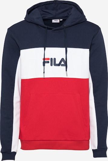 Felpa 'ANALU' FILA di colore navy / rosso fuoco / bianco, Visualizzazione prodotti