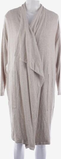Velvet Pullover / Strickjacke in M in beige, Produktansicht