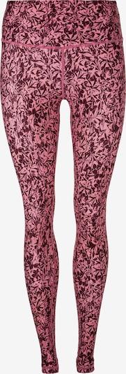 Athlecia Funktionstights 'Franzine' in rosa / blutrot, Produktansicht