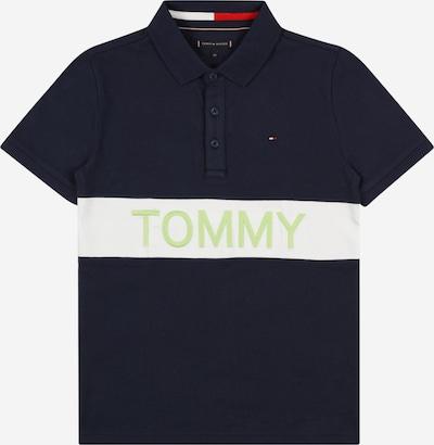 TOMMY HILFIGER Camiseta en navy / manzana / blanco, Vista del producto