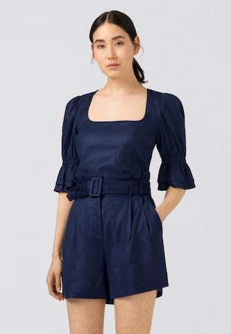HALLHUBER Bluse in Blau