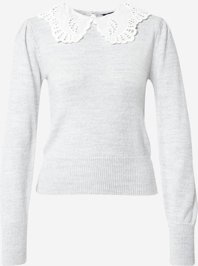 Dorothy Perkins Pullover i grå / hvid, Produktvisning