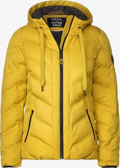 CECIL Winterjacke mit Steppung in gelb, Produktansicht