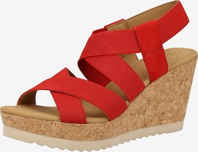 GABOR Sandale in rot, Produktansicht