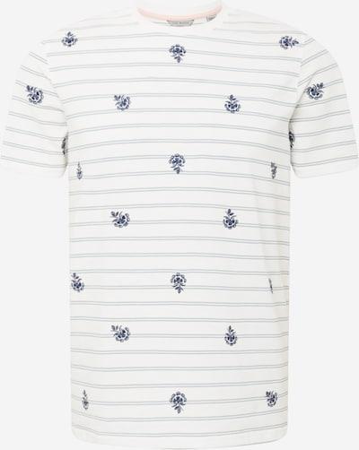 Tricou 'bahji' Ted Baker pe albastru / gri / alb, Vizualizare produs