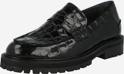 Papuci de casă ANGULUS pe negru, Vizualizare produs
