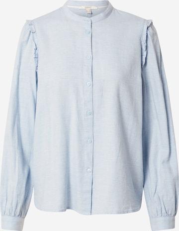 Bluză de la ESPRIT pe albastru
