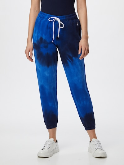 POLO RALPH LAUREN Hose in blau / dunkelblau, Modelansicht