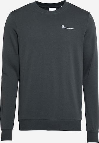 KnowledgeCotton Apparel Sweatshirt 'ELM' i grå