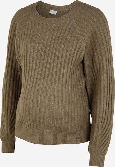 MAMALICIOUS Pullover 'Polly' i khaki, Produktvisning