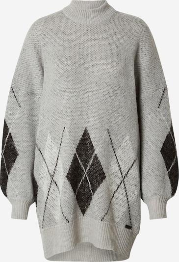 Noisy may Pullover in grau / schwarz, Produktansicht