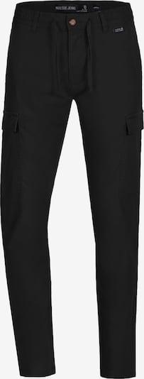 INDICODE JEANS Pantalon cargo ' Cagle ' en noir: Vue de face