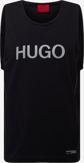 HUGO Top 'Dactive' in schwarz / weiß, Produktansicht