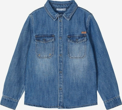 NAME IT Camisa en azul denim, Vista del producto